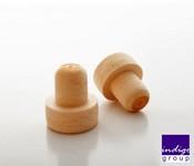 Dop tip cognac sintetic D 18*20 mm
