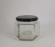 Borcan 380 ml Hexagonal
