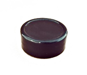Capac plastic prefiletat D31*10 Negru