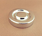 Capac plastic 53 mm Argintiu