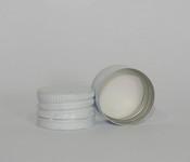 Capac alu. pref. D 28*18 mm alb R