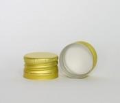 Capac alu. pref. D 28*18 mm auriu R