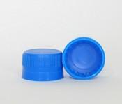 Capac plastic premium D28x18 albastru