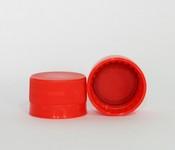 Capac plastic premium D28x18 rosu