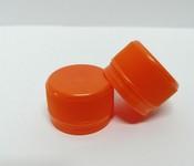 Capac plastic 28 mm filet portocaliu