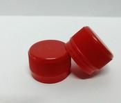 Capac plastic 28 mm filet rosu