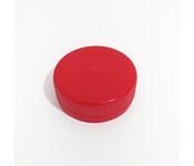 Capac plastic 38 mm filet rosu