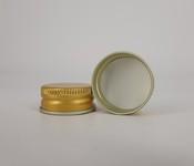 Capac alu. pref. D 28*12 mm auriu