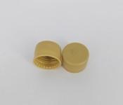 Capac plastic premium cu garnitura D28x18 auriu